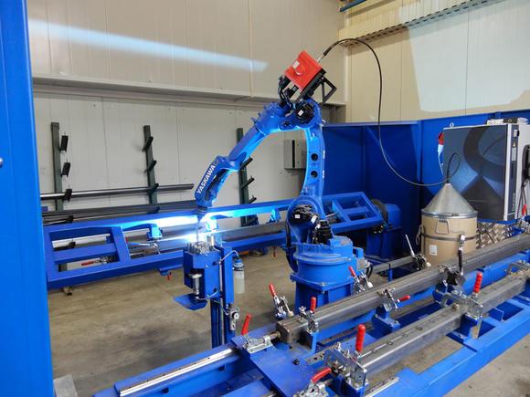 «ВОМЗ» STEELBEAR начинает внедрять роботов в производство прицепов!